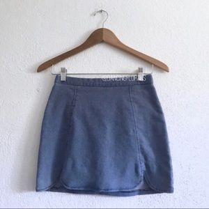 Brandy Melville Raquel denim skirt